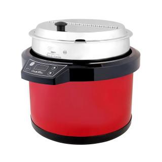 Elektrischer Suppentopf 7 L ROT