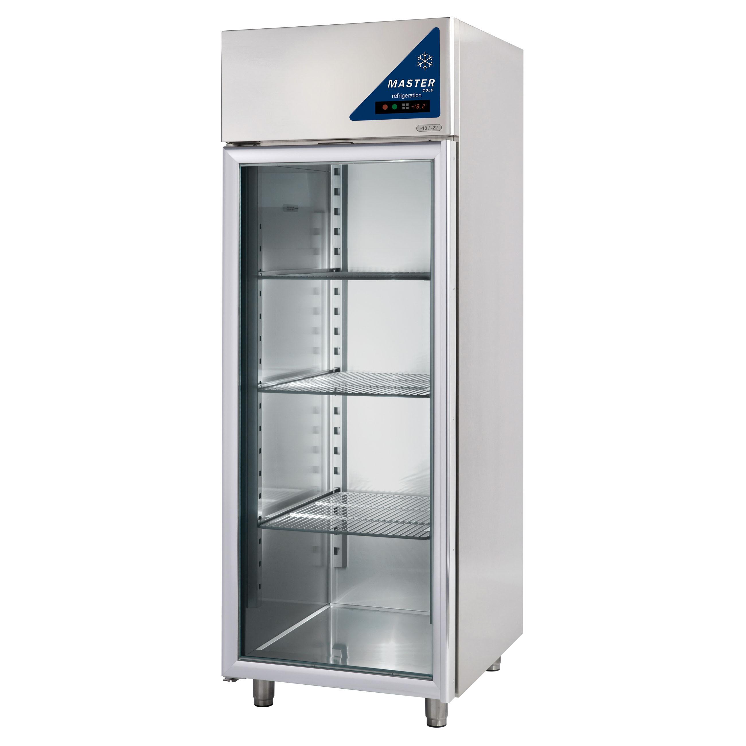 Tiefkühlschränke  Tiefkühlschrank Master 600 Minus Glas - Gastro Kühl ...