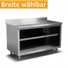 Produktabbildung Arbeitsschrank ASO 700 A aus Edelstahl, Edelstahl-Möbel für Gastrobetriebe günstig online kaufen bei gastlando.de