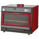 Holzkohlegrill BBQ75 RED
