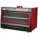Holzkohlegrill BBQ120 RED