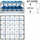 Gläserkorb KIT 25/200