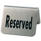 """2 Tischaufsteller """"Reserved"""""""